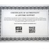 Certificate of Authenticity Amazon