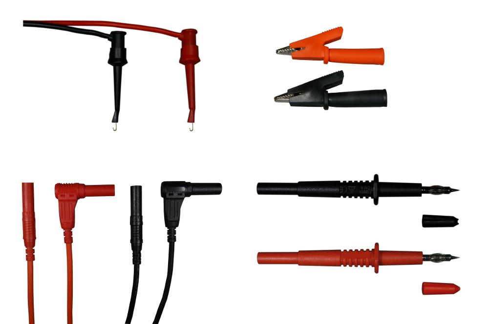 4MM Hook Clip Multimeters Test Lead Extension Hook Probe Testing Clip OQOF